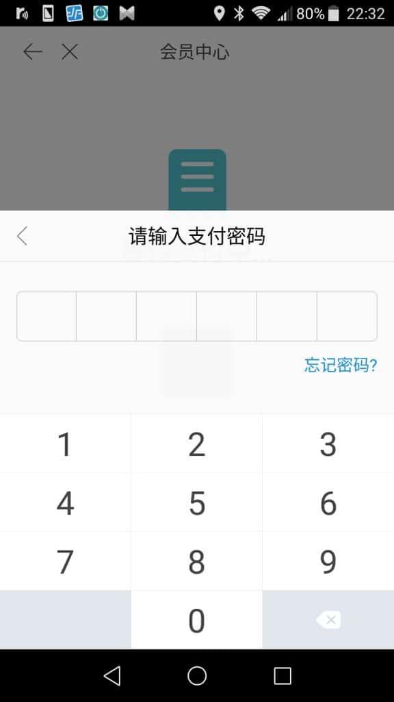 支付宝(Alipay)で支払いをしてみた