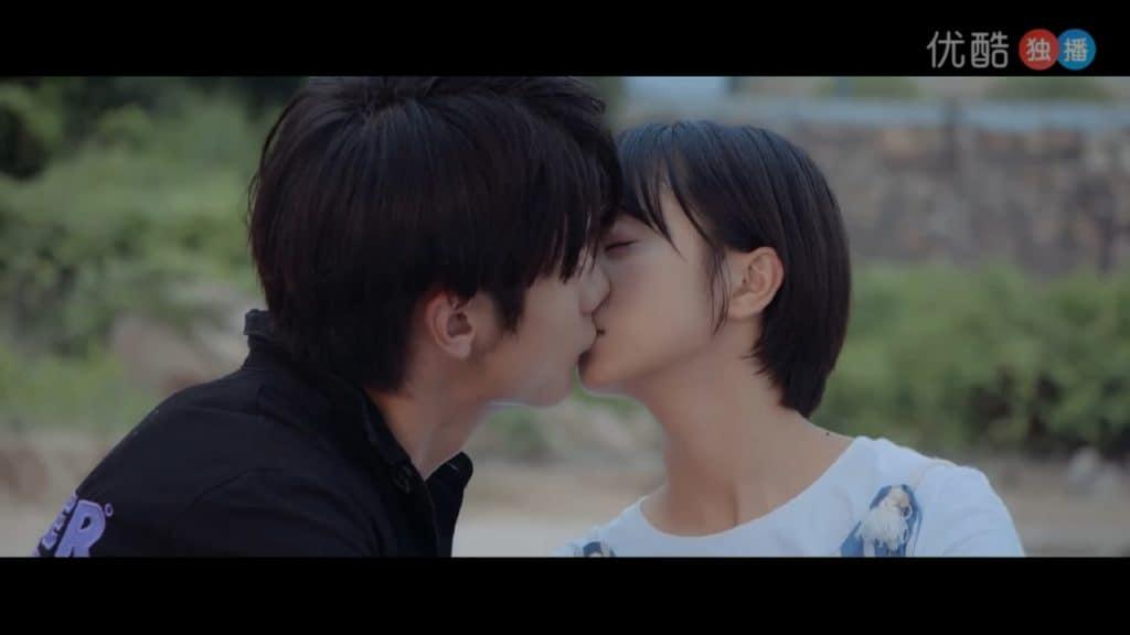 苏灿灿と兰天野、二度目のキス