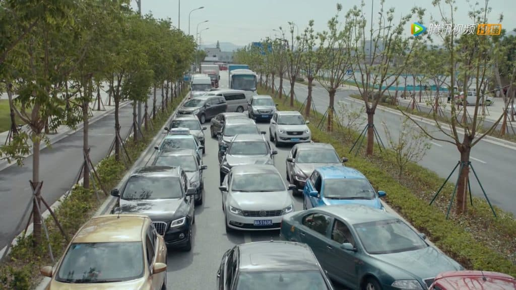 中国の渋滞