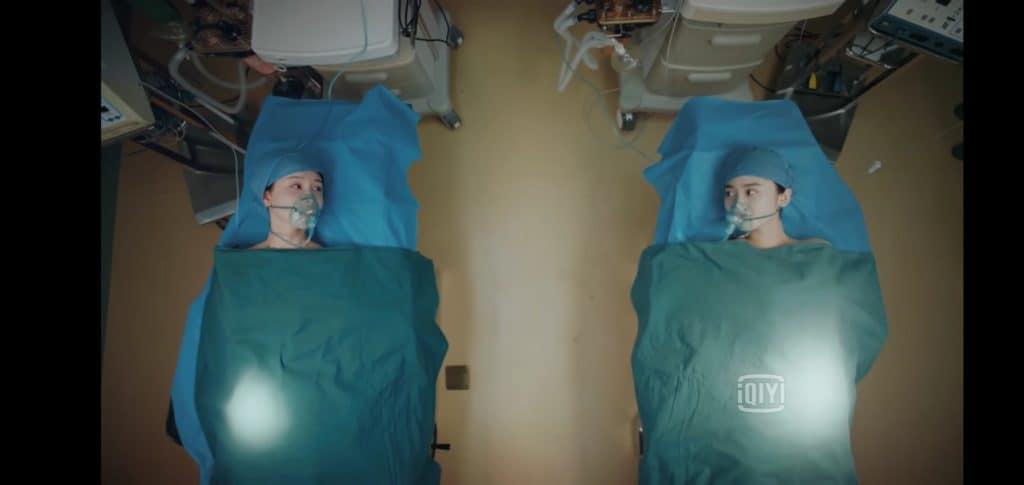 手術室にて