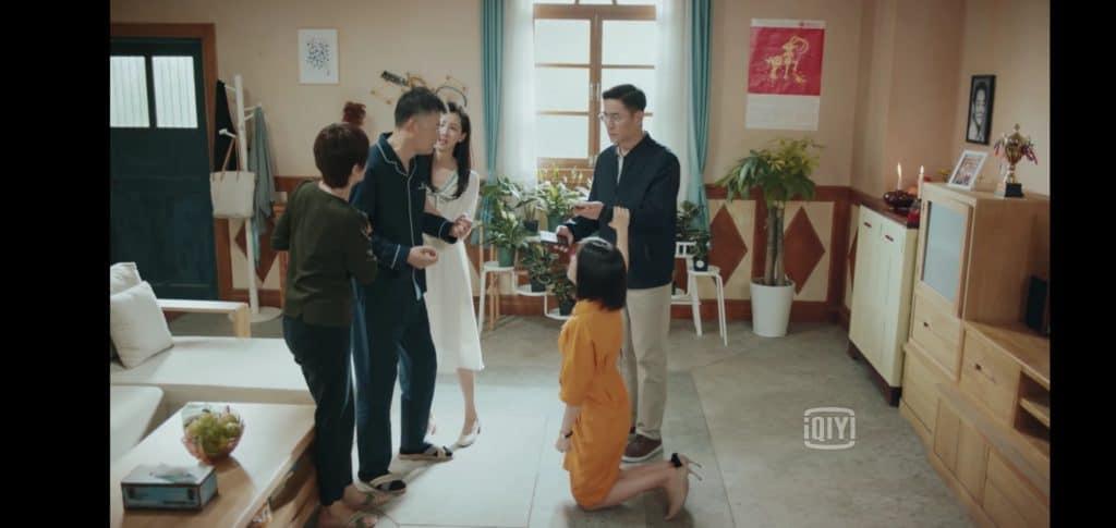 李父子、林一家に謝る
