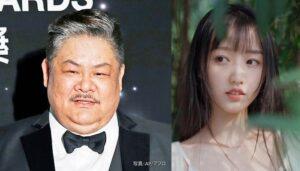 香港の俳優・林雪(左)と林雪(宋元圆)