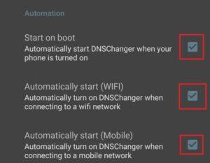 設定-Automation